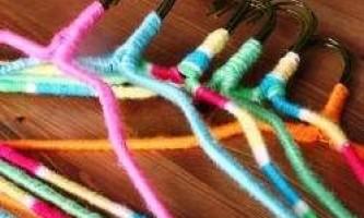 10 Ідей, як ще можна використовувати вішалки для одягу