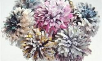 10 Найкрасивіших паперових квітів своїми руками