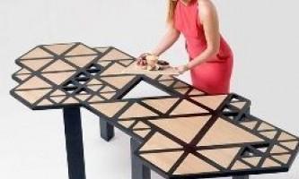 14 Столів-трансформерів, які допоможуть заощадити багато місця