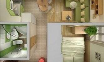 15 Дизайнерських ідей для малогабаритних квартир