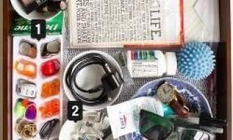 15 Способів навести порядок в дрібних речах