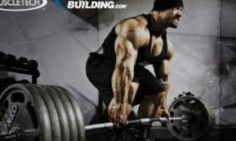 6 Кілограм чистих м`язів за 10 тижнів в бодібілдингу