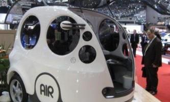 Airpod. Автомобіль майбутнього на стислому повітрі.