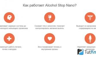 Alco stop nano - від алкоголізму