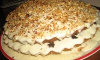 Бабушкін сметанний торт бахетле - рецепт