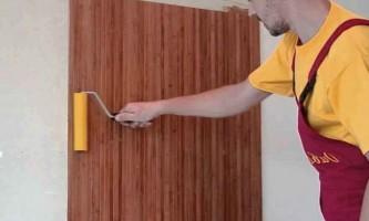 Бамбукові шпалери для стін: інструкція з поклейки