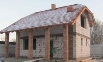 Баня з газосилікатних блоків: технологія будівництва
