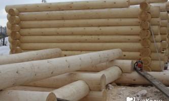 Баня з оциліндрованих колод: технологія будівництва