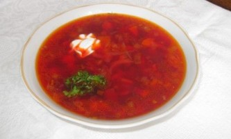 Борщ класичний - рецепт з фото
