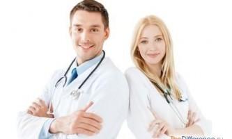 Чим доктор відрізняється від лікаря?