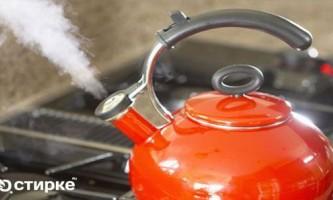 Чим можна почистити від накипу звичайний чайник