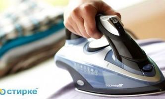 Чим очистити підошву праски від нагару в домашніх умовах