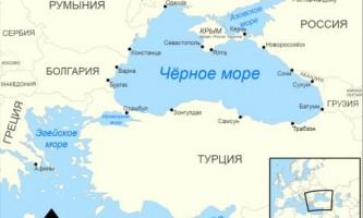 Чим відрізняється азовське море від чорного?