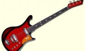 Чим відрізняється бас-гітара від електрогітари?