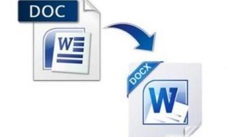 Чим відрізняється doc від docx?