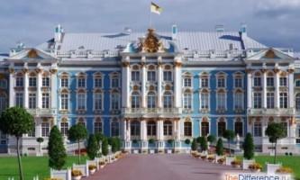 Чим відрізняється палац від замку?
