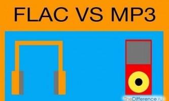 Чим відрізняється flac від mp3?