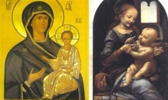 Чим відрізняється ікона від картини (портрета)?