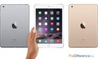 Чим відрізняється ipad mini 2 від ipad mini 3?