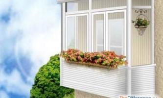 Чим відрізняється лоджія від балкона?