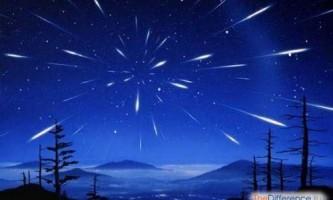 Чим відрізняється метеор від метеорита?