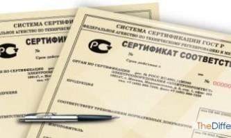 Чим відрізняється обов`язковий сертифікат від добровільного?