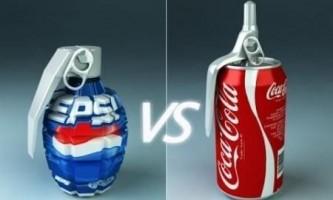 Чим відрізняється pepsi від coca-cola?