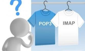 Чим відрізняється pop3 від imap?