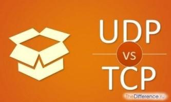 Чим відрізняється протокол tcp від udp?