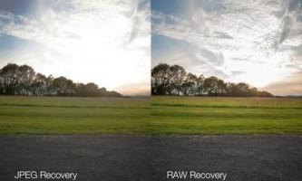 Чим відрізняється raw від jpeg?