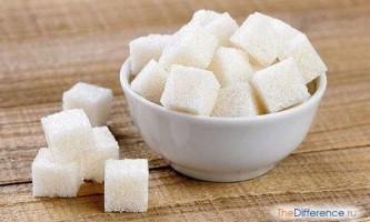 Чим відрізняється цукор від сахарози?