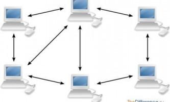 Чим відрізняється мережу з виділеним сервером від тимчасової мережі?