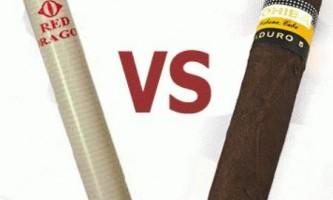 Чим відрізняється сигара від сигарети?