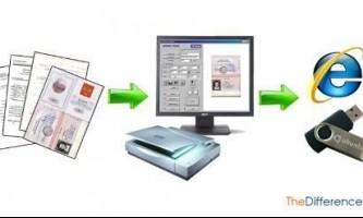 Чим відрізняється сканування від копіювання?