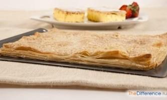 Чим відрізняється листкове бездріжджове тісто від дріжджового?