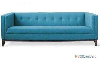 Чим відрізняється софа від дивана?