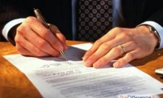 Чим відрізняється трудовий договір від контракту?