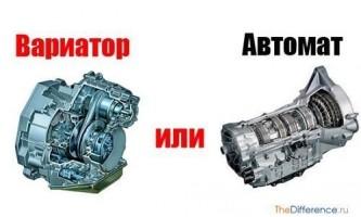 Чим відрізняється варіатор від автомата?