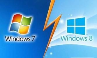 Чим відрізняється windows 8 від windows 7?