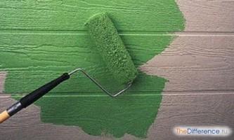 Чим відрізняються акрилові фарби від водоемульсійних?