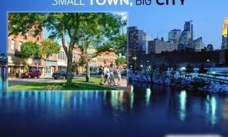 Чим відрізняються city і town?