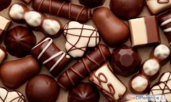 Чим відрізняються цукерки від карамелі?
