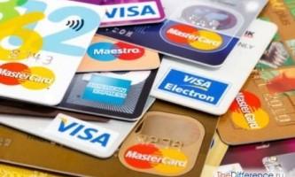 Чим відрізняються кредитні карти і дебетові карти?
