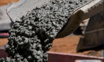 Чим відрізняються марки бетону?