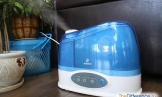 Чим відрізняються зволожувачі повітря від очищувачів?