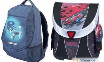Чим ранець відрізняється від рюкзака?