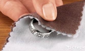 Чистимо срібні прикраси з камінням своїми руками