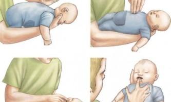 Що робити, якщо дитина подавився?