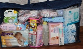 Список необхідних речей, котороие потрібно купити для новонародженої дитини