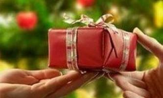 Що подарувати на різдво